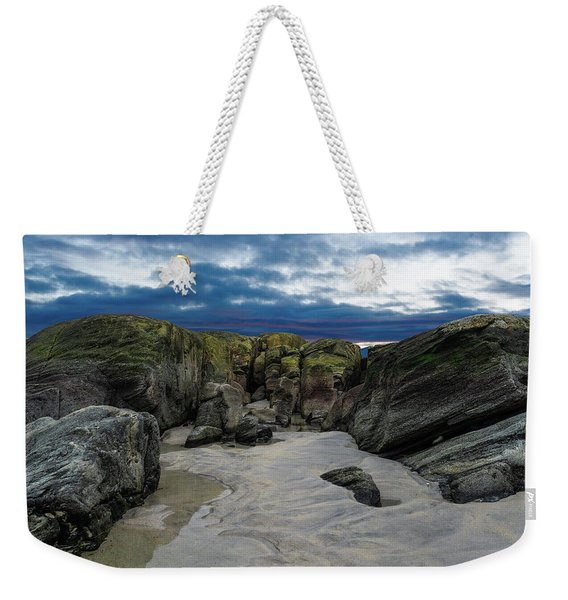 Coastline Castle Weekender Tote Bag