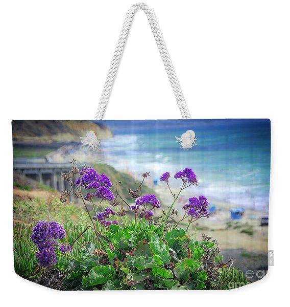 Coastline Color Weekender Tote Bag
