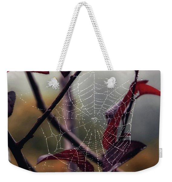 Cobweb Weekender Tote Bag