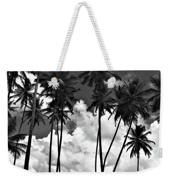 Coconut Trees At Mayaro Weekender Tote Bag