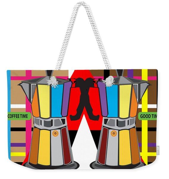 Coffee Time  Weekender Tote Bag