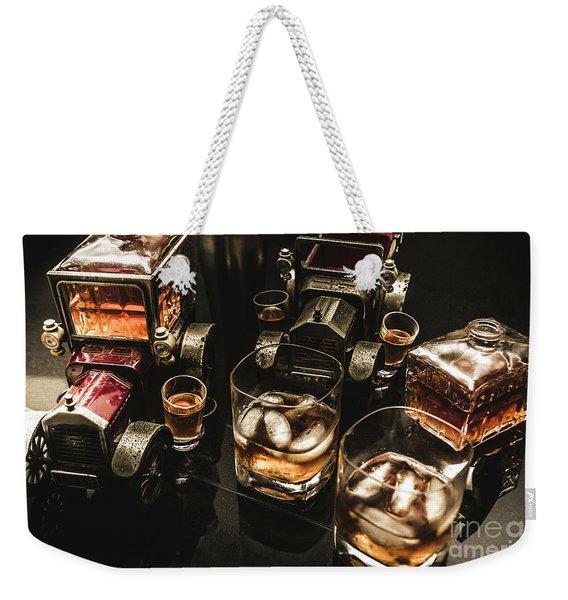 Cognac Cars Weekender Tote Bag