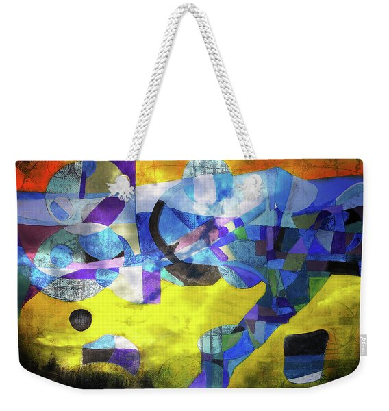 Cold Evening Wind Weekender Tote Bag