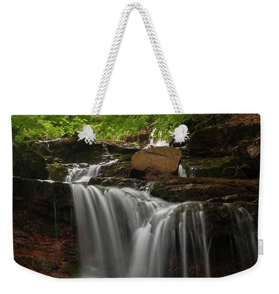 Cold River Weekender Tote Bag