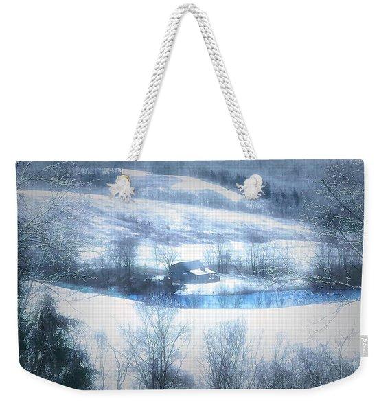 Cold Valley Weekender Tote Bag