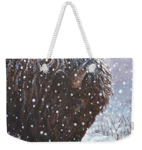 Cold Weather Cohorts Weekender Tote Bag