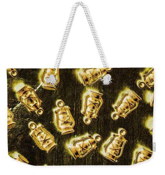 Colonial Glow Weekender Tote Bag