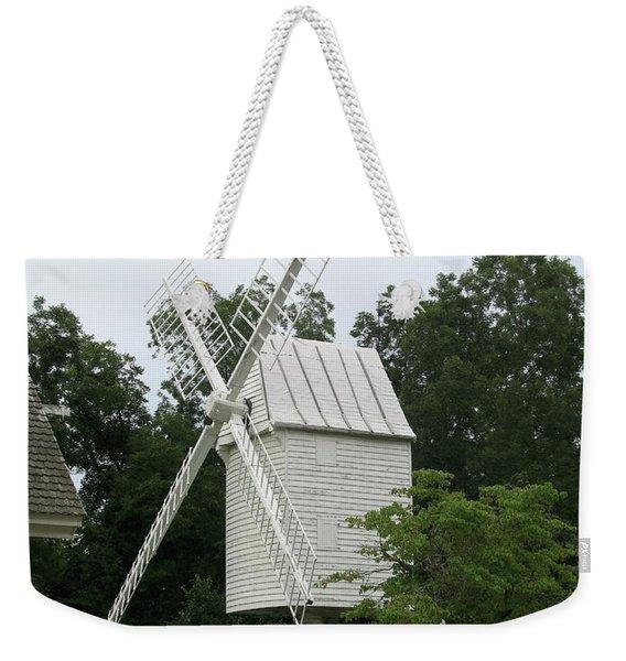 Colonial Williamsburg White Mill Weekender Tote Bag