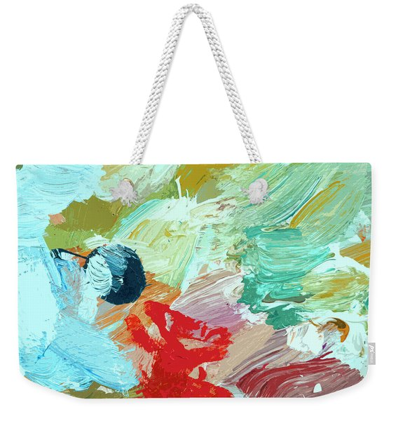 Color Village Weekender Tote Bag