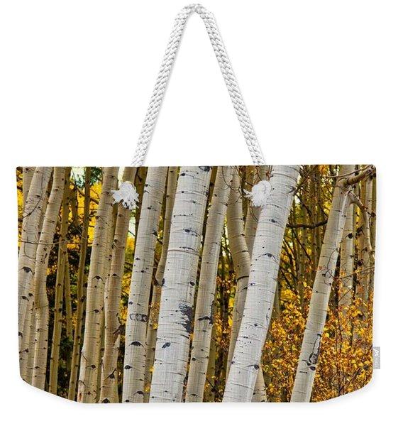Colorado Aspens Weekender Tote Bag