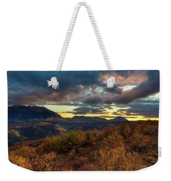 Colorado Cloudscape Weekender Tote Bag