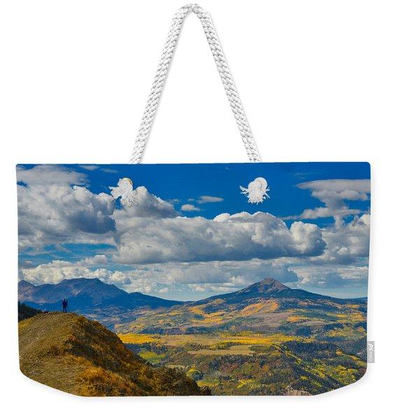 Colorado Fall Weekender Tote Bag