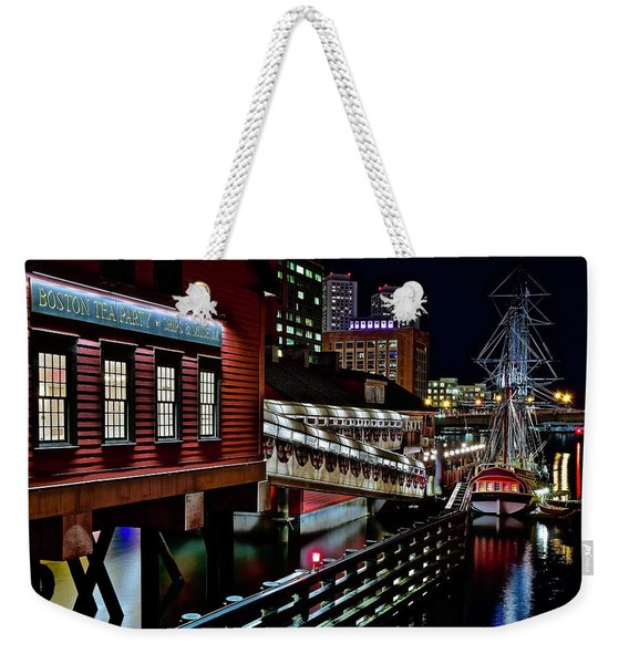 Colorful Boston Museum Weekender Tote Bag