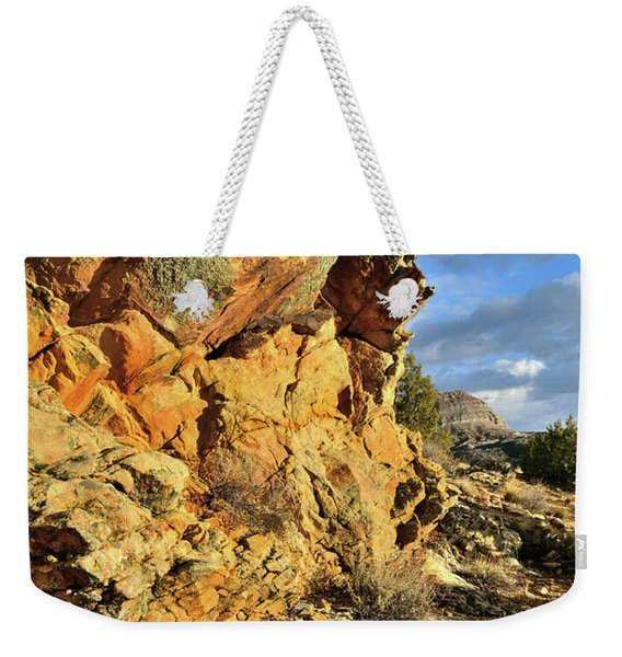 Colorful Crags In Colorado National Monument Weekender Tote Bag
