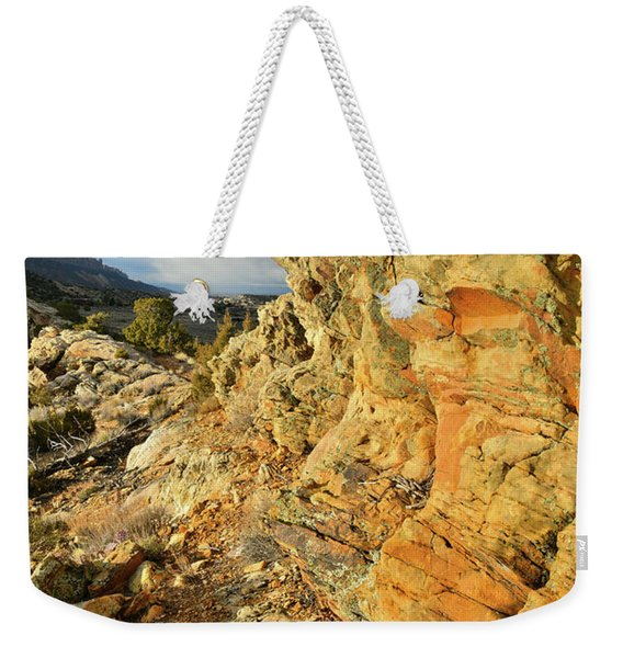 Colorful Entrance To Colorado National Monument Weekender Tote Bag