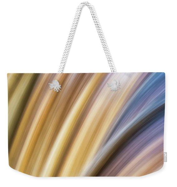 Colorful Flow Weekender Tote Bag
