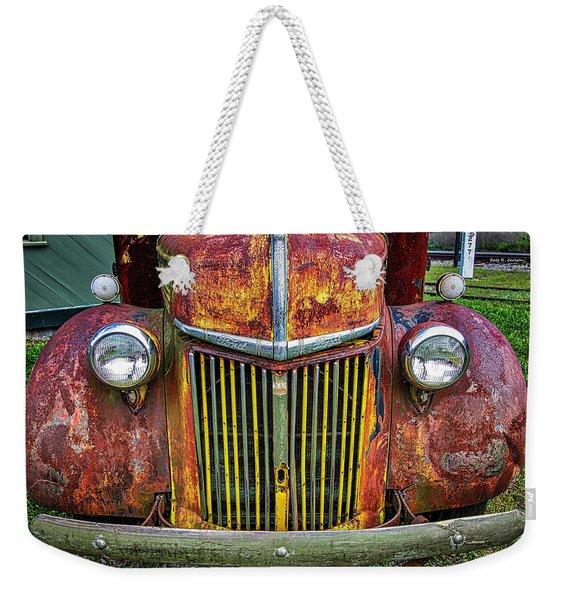 Colorful Ford Weekender Tote Bag
