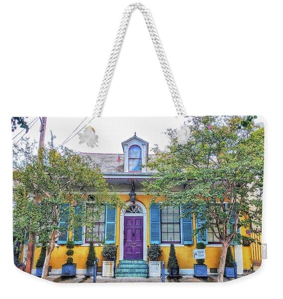 Colorful Nola Weekender Tote Bag