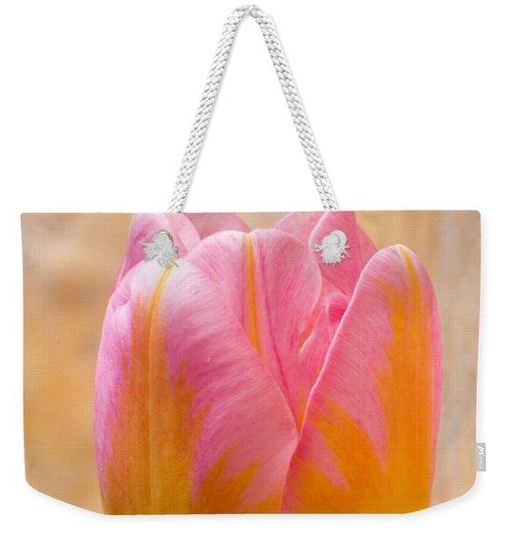Colorful Tulip Weekender Tote Bag