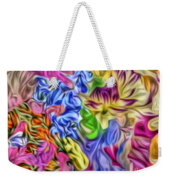 Colors From Nature Weekender Tote Bag