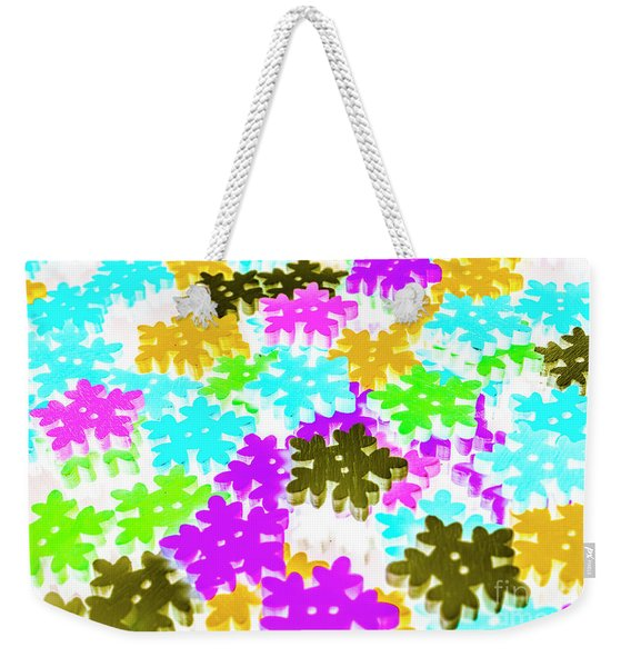 Colors Of Frost Weekender Tote Bag