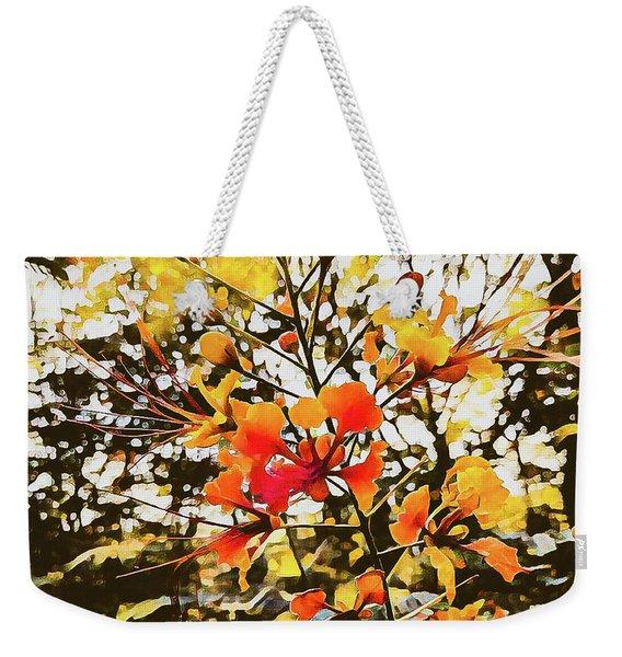 Colourful Leaves Weekender Tote Bag