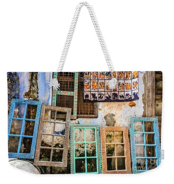 Colorful Window Frames Weekender Tote Bag