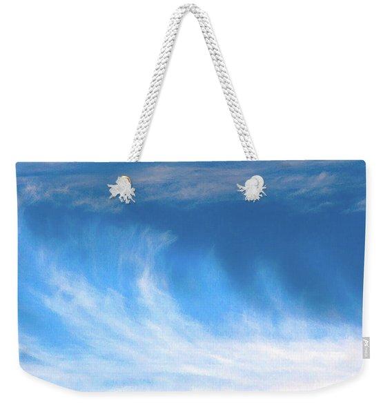Colours. Blue Weekender Tote Bag