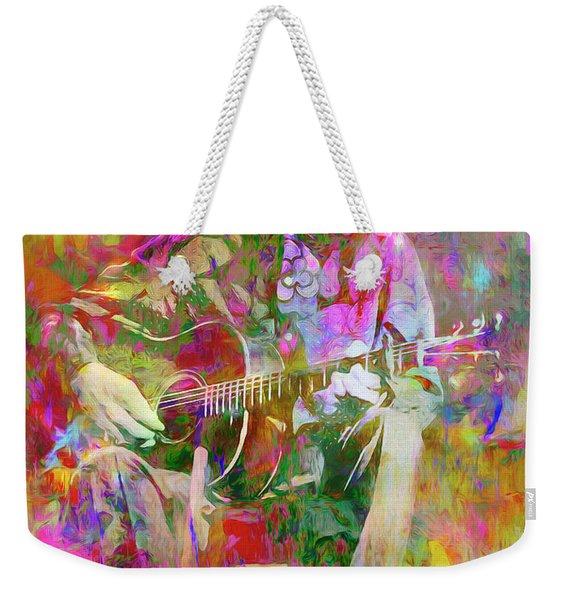 Colours, Donovan Weekender Tote Bag