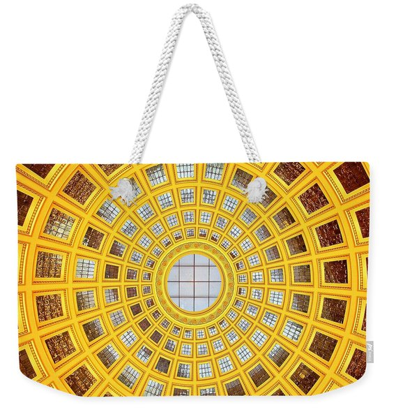 Colours. Gold Weekender Tote Bag