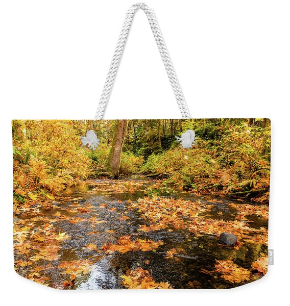Colours Of Fall Weekender Tote Bag
