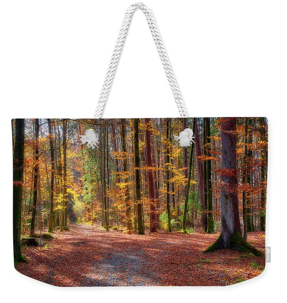 Colours Of Nature Weekender Tote Bag