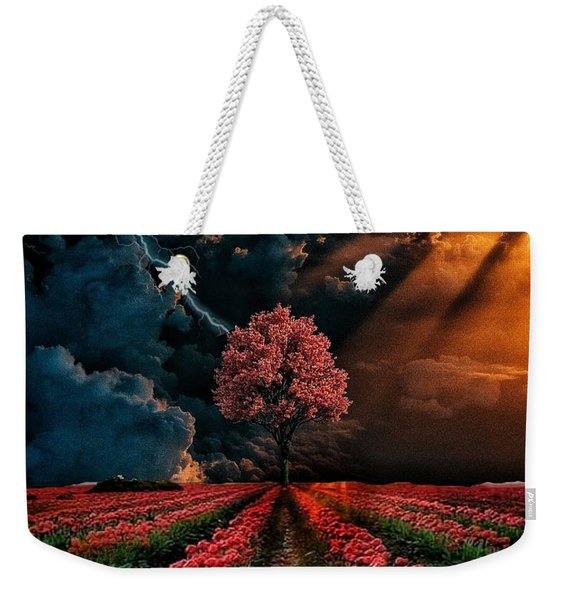 Colours Of The Sky Weekender Tote Bag