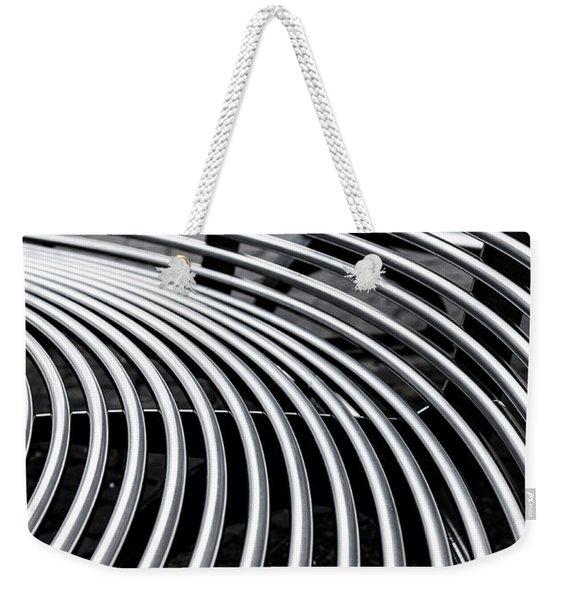 Colours. Silver Weekender Tote Bag