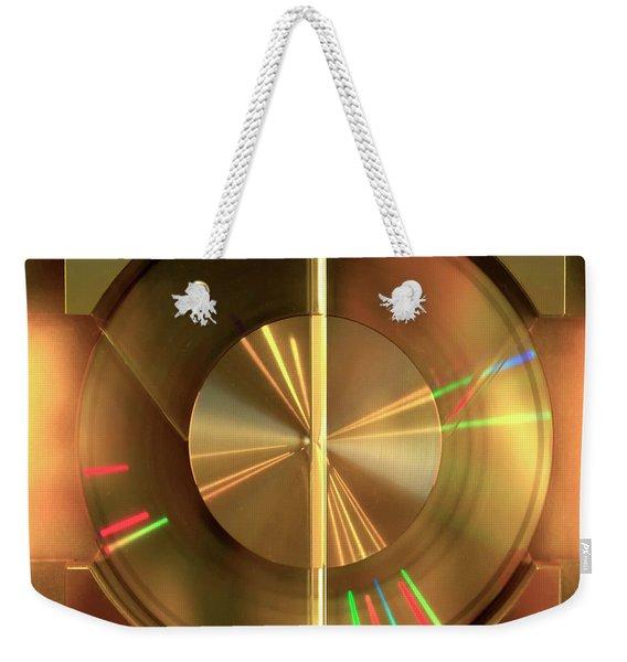 Colours. Time Weekender Tote Bag