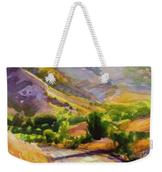 Columbia County Backroads Weekender Tote Bag