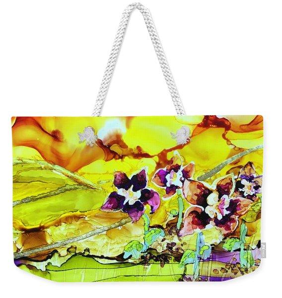 Columbine Sunset Weekender Tote Bag