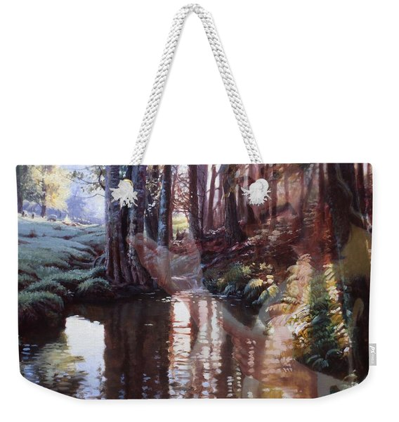 Come, Explore With Me Weekender Tote Bag