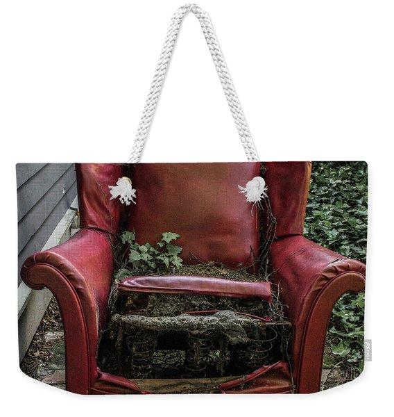 Comfy Chair Weekender Tote Bag