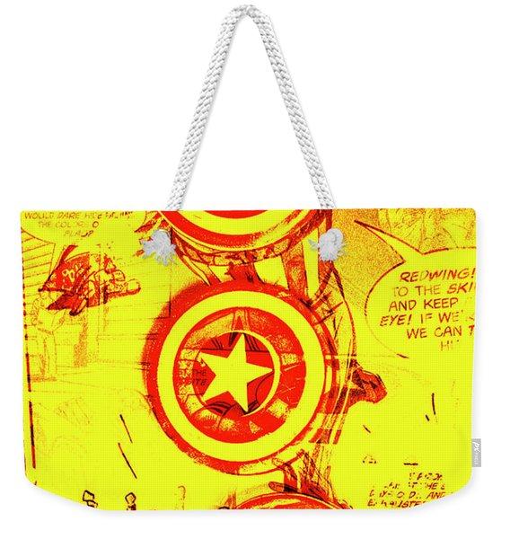 Comic Book Composite Weekender Tote Bag