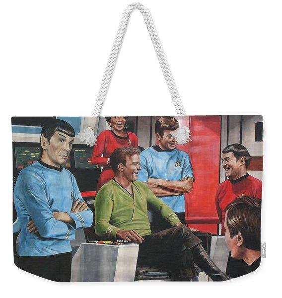 Comic Relief Weekender Tote Bag