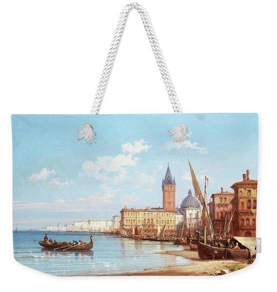 Coming Ashore, Venice Weekender Tote Bag