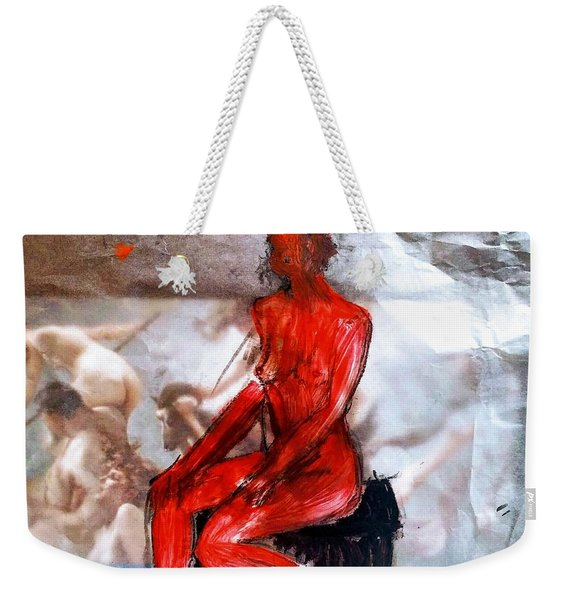 Coming From The Treaure  Weekender Tote Bag