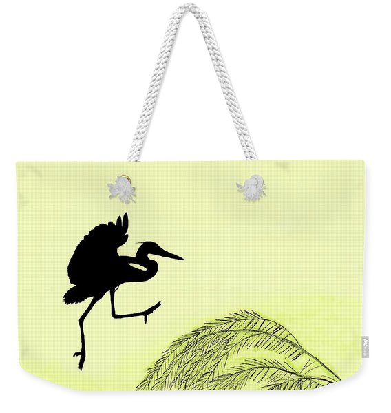 Coming In For A Landing Weekender Tote Bag