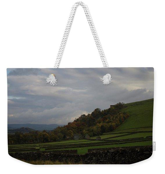 Derbyshire Stone Walls Weekender Tote Bag