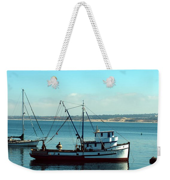 Commercial Fishing Boat Weekender Tote Bag