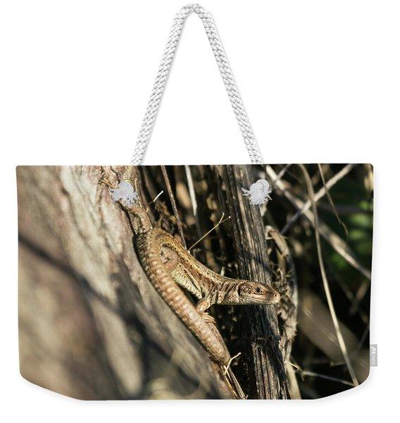 Common Lizard Weekender Tote Bag