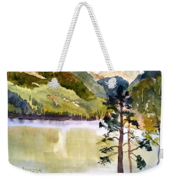 Como Lake Weekender Tote Bag