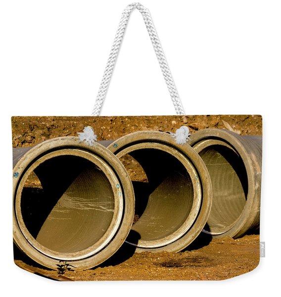 Concentric Weekender Tote Bag