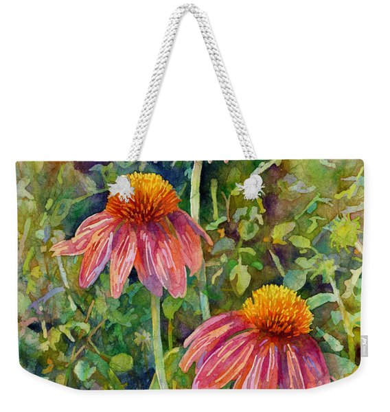 Coneflower Trio Weekender Tote Bag